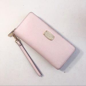 Michael Kors Blush Pink Wallet